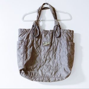 Marc by Marc Jacobs - Taupe Nylon Tote